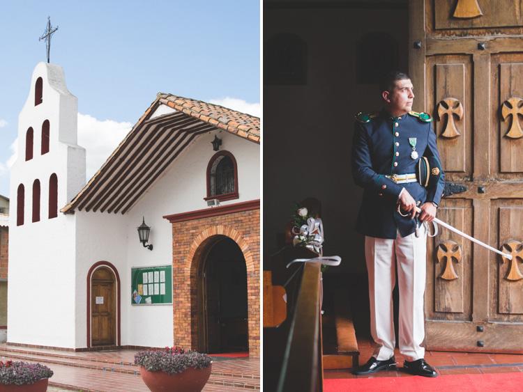 Fotos boda en Cajicá - iglesia