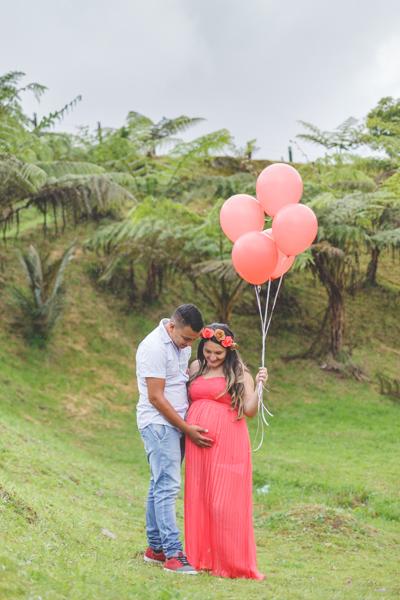 sesión de fotos para embarazada