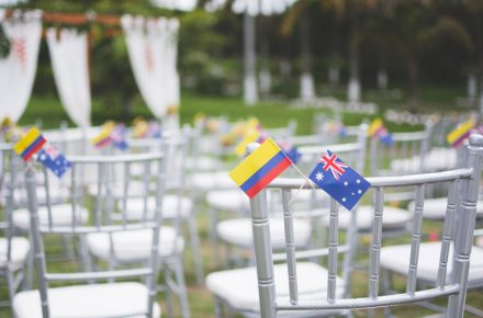 Una boda Colombo-Australiana Luisa y Francis